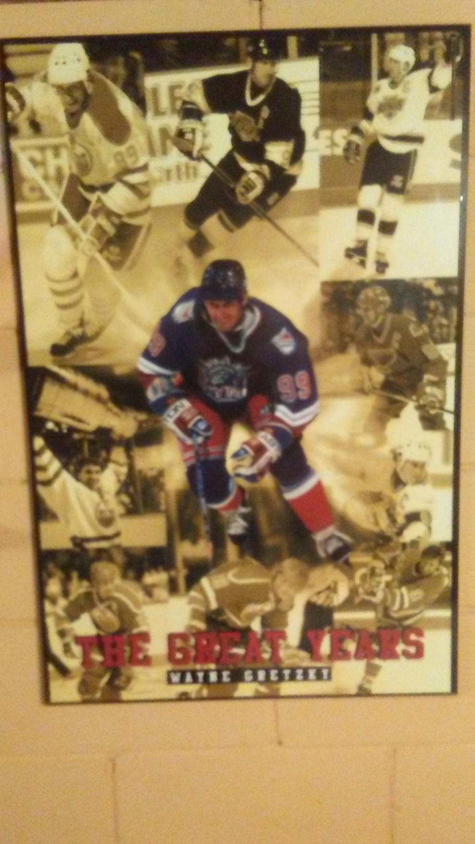 """WAYNE GRETZKY FANS """"THE GREAT ONE"""" PHOTO"""