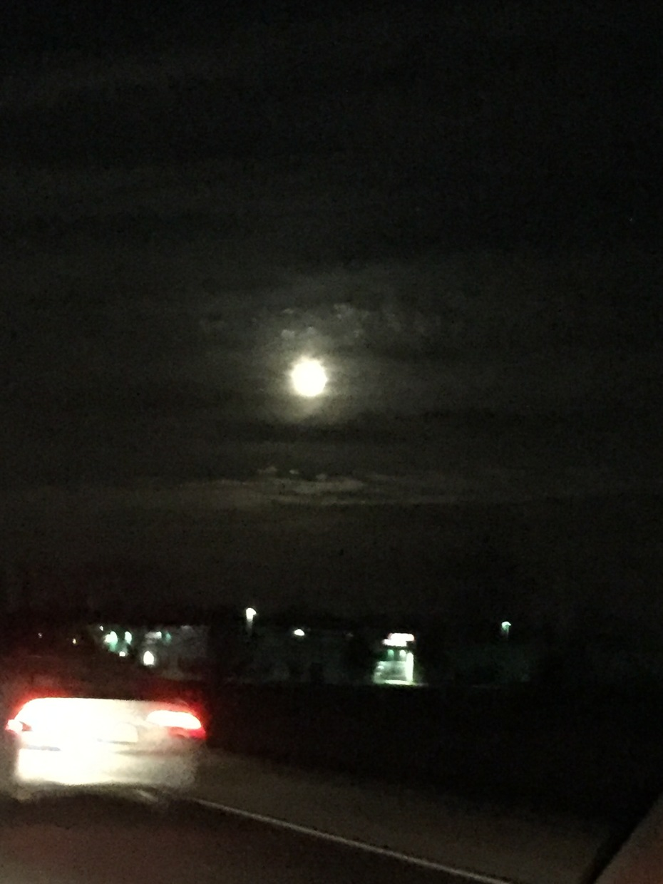 Moon looks better in person.