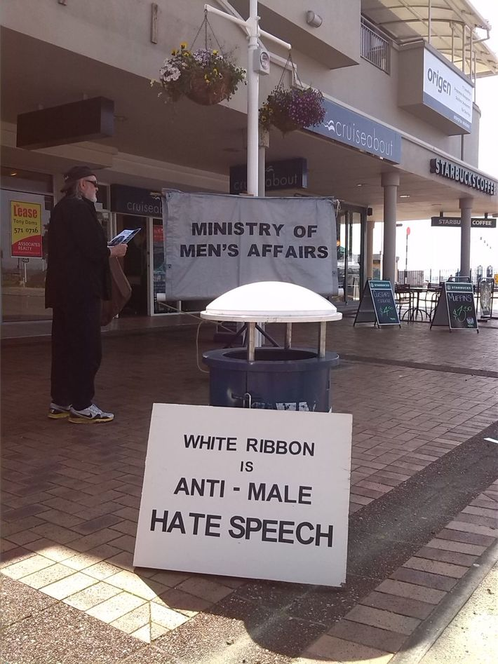 Man makes a stand.