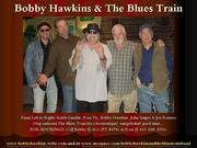 Bobby Hawkins $ The Blues Train Band Appearing @ The Sky Vue Lounge
