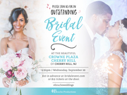 Bouche Productions Presents the South Jersey #WeddingWednesday Bridal & Wedding Show!