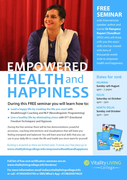Empowered Health and Happiness Free Seminar Mumbai with Dr Rangana Rupavi Choudhuri (PhD)