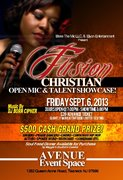 Open Mic Showcase- Elyon Bless The Mic Christian Entertainment