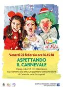 Aspettando il Carnevale @ El Filò. 1 territorio, 1000 racconti