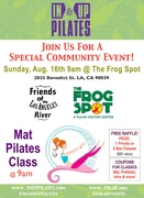 Community Mat Pilates Class at The Frog Spot with In & Up Pilates