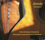 Amala (Reidun Schlesinger, harp & Paul de Grae, guitar) CD launch
