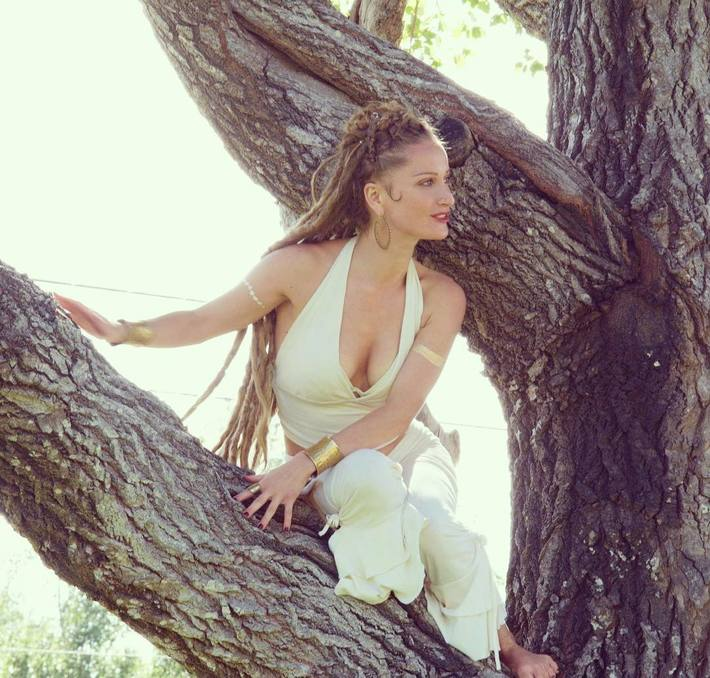 Goddess in the Tree