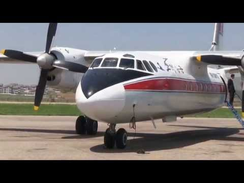THE SIGHT & THE SOUND 8/12 : Air Koryo AN-24RV P-532 inflight documentary from / to Pyongyang