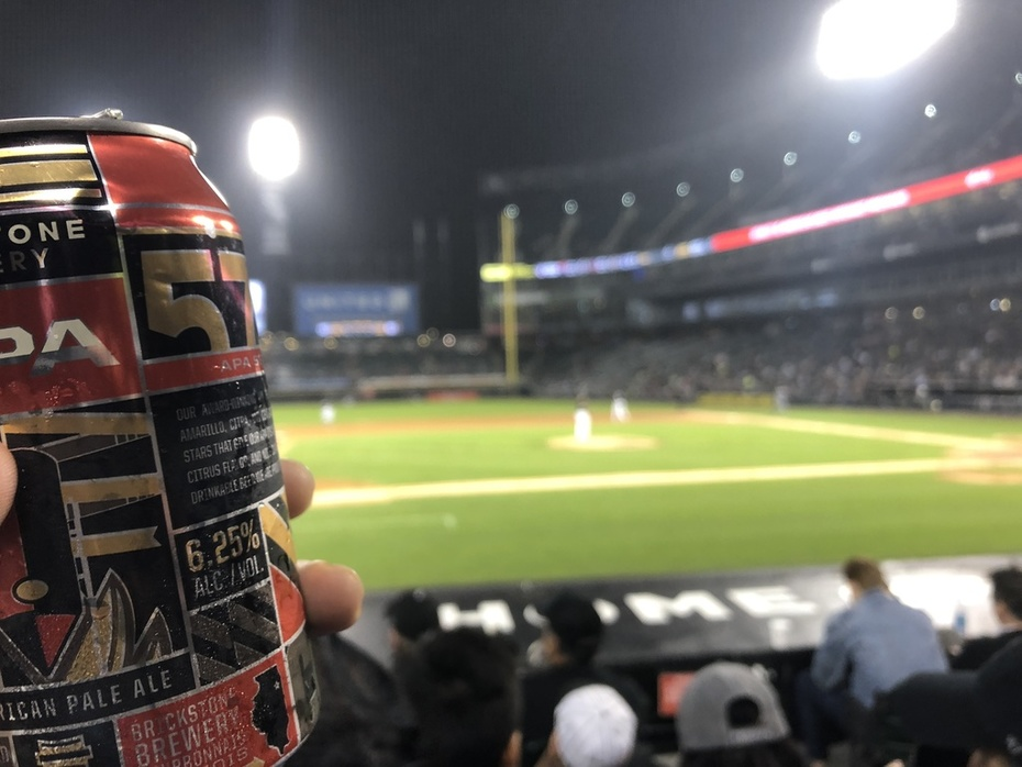 Beers and baseball...again