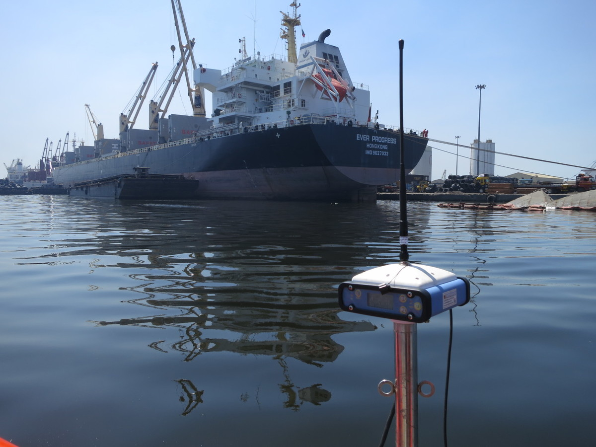 hydrographic survey of ports.
