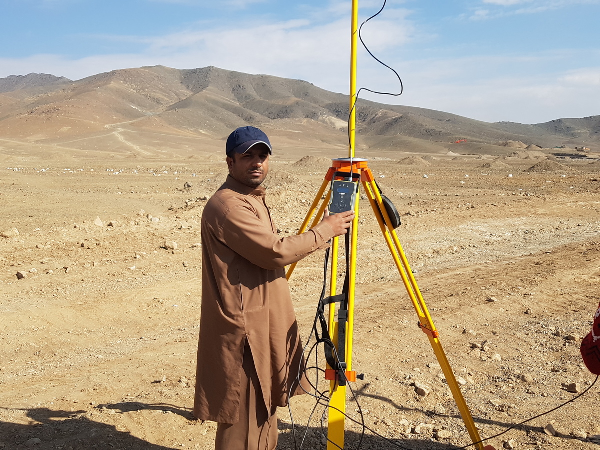 Land Surveyor Afghanistan