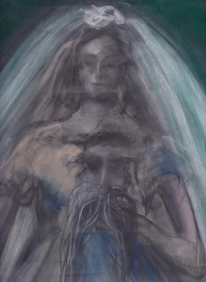 Bride Holding Nietzsche's Head