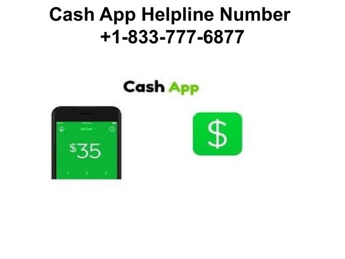 Cash App Support Number +1-833-777-6877 Helpline Number