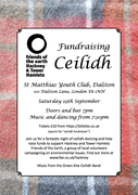 Friends of the Earth fundraising ceilidh!