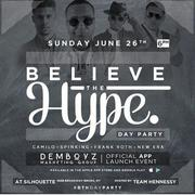 Believe The Hype Day Party DJ Camilo Live At Silhouette