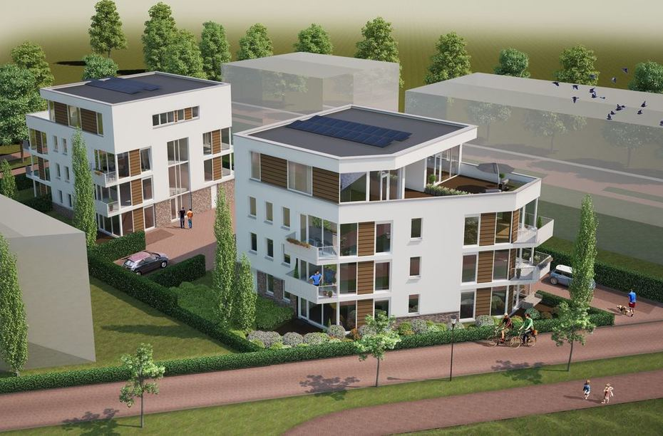 20 appartementen in Almere