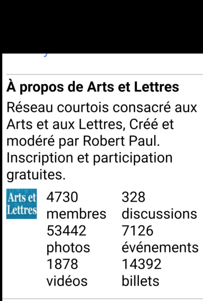à propos d'arts et lettres