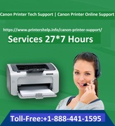 Printers Help - Canon Printer Tech Support Phone Number, USA | +1-888-441-1595