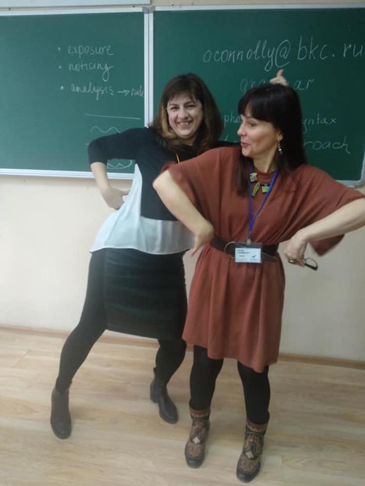 Olga Connolly and Tatyana Odintsova