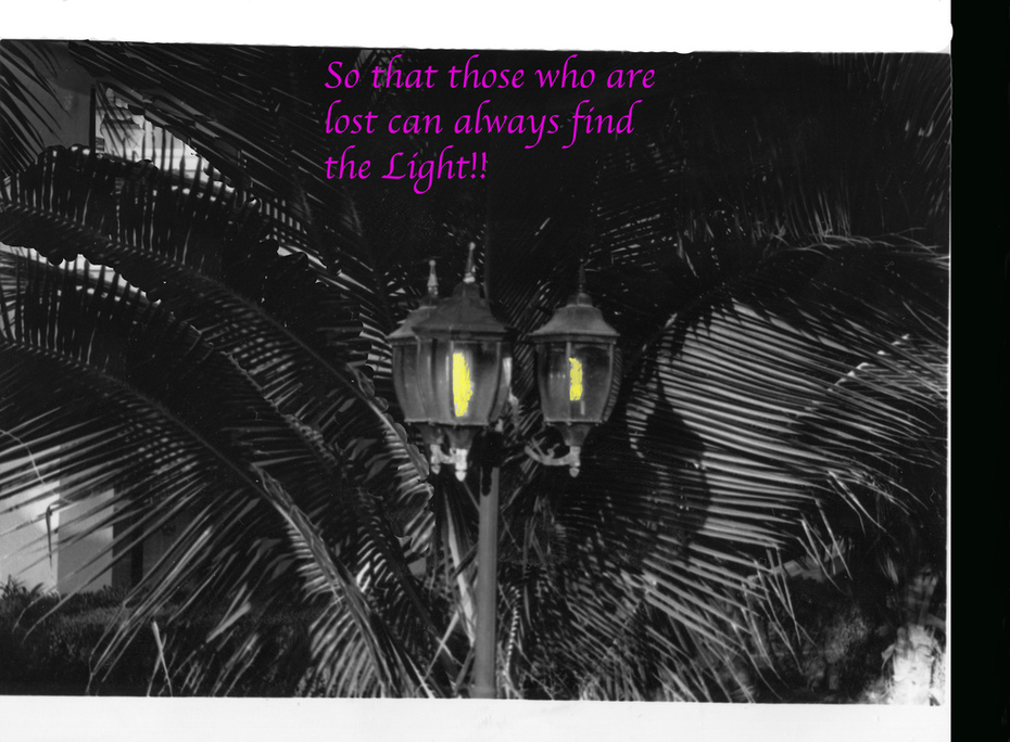 to find the light