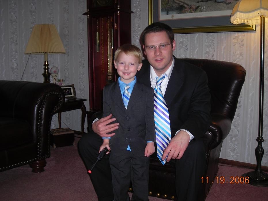 dad & jon matching ties