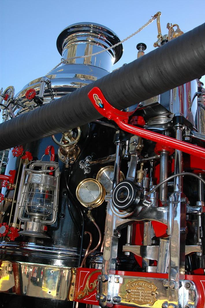 CSFA Steamer  Closeup