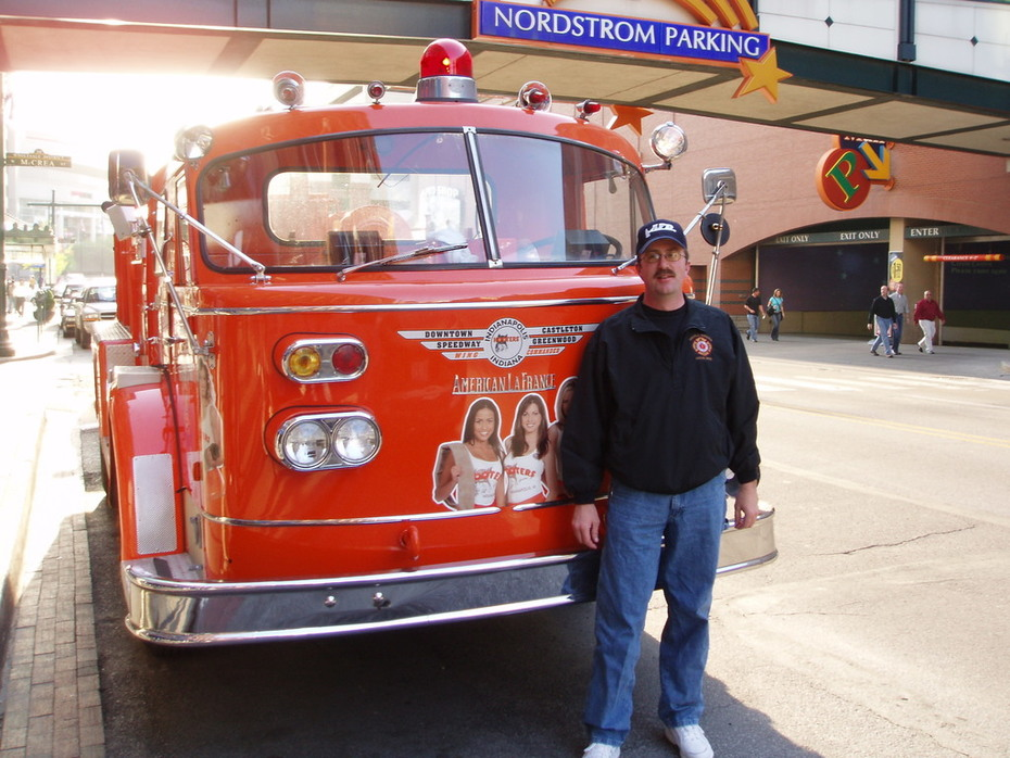 Me and Hooters Fire truck