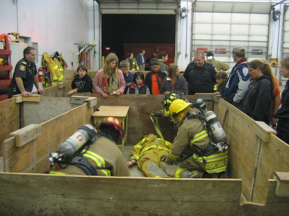 Fire Prevention Night Demo