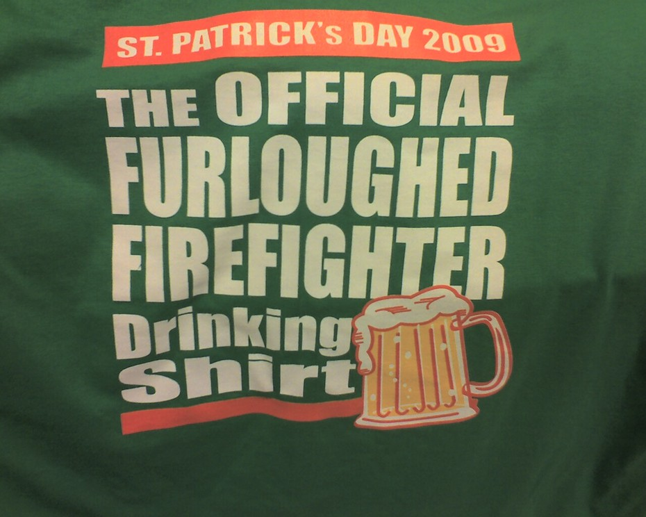 Atlanta FF St. Patty Shirt