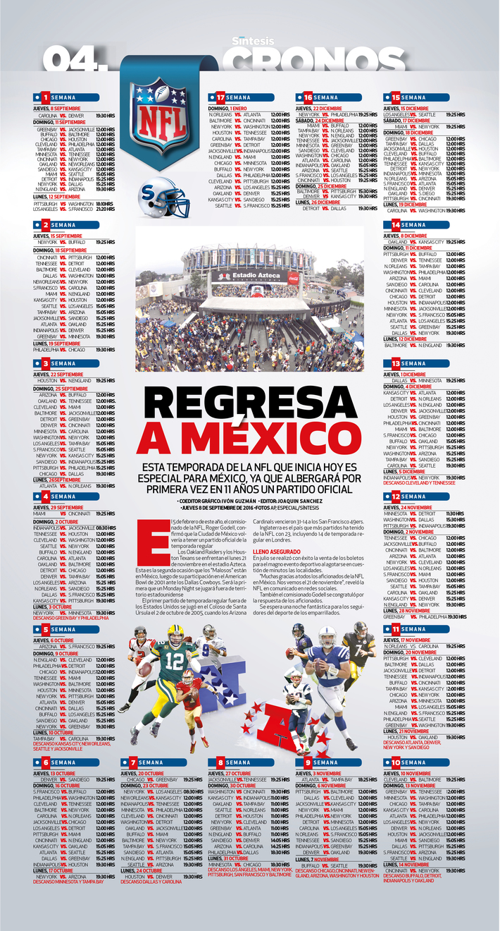 Nfl Calendario.Nfl Calendario Newspagedesigner
