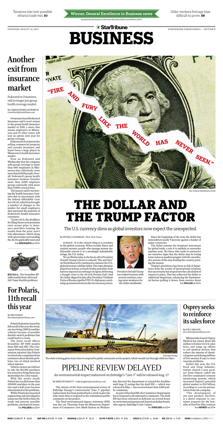 The dollar and the Trump factor