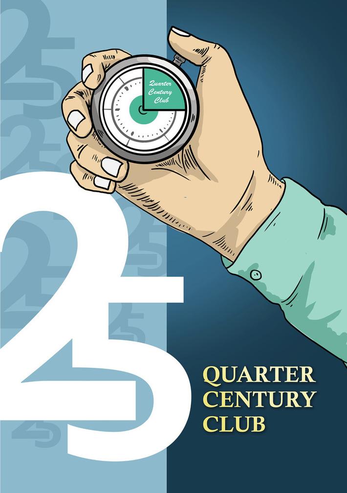 Quarter Century Club booklet cover