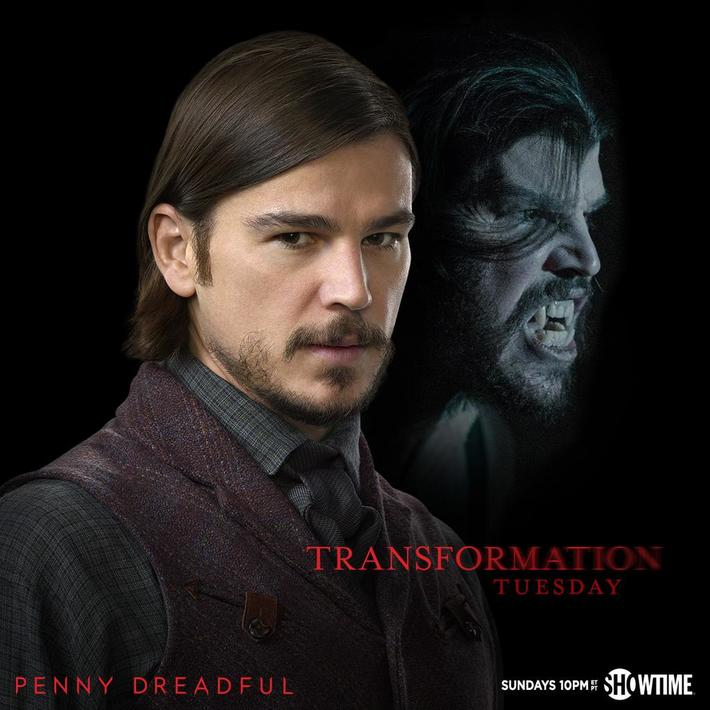 Someone else knows his secret now. #TransformationTuesday #PennyDreadful