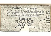 Railway Tickets