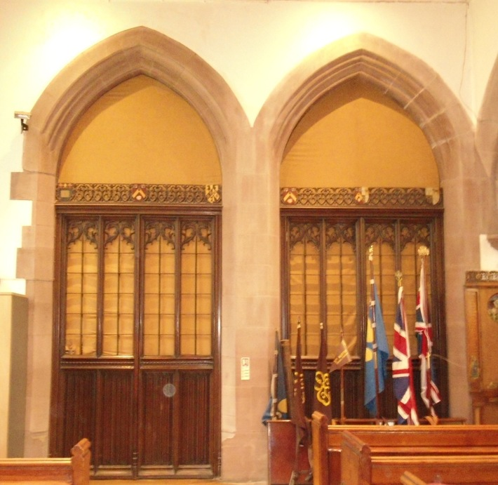 Vestry screen