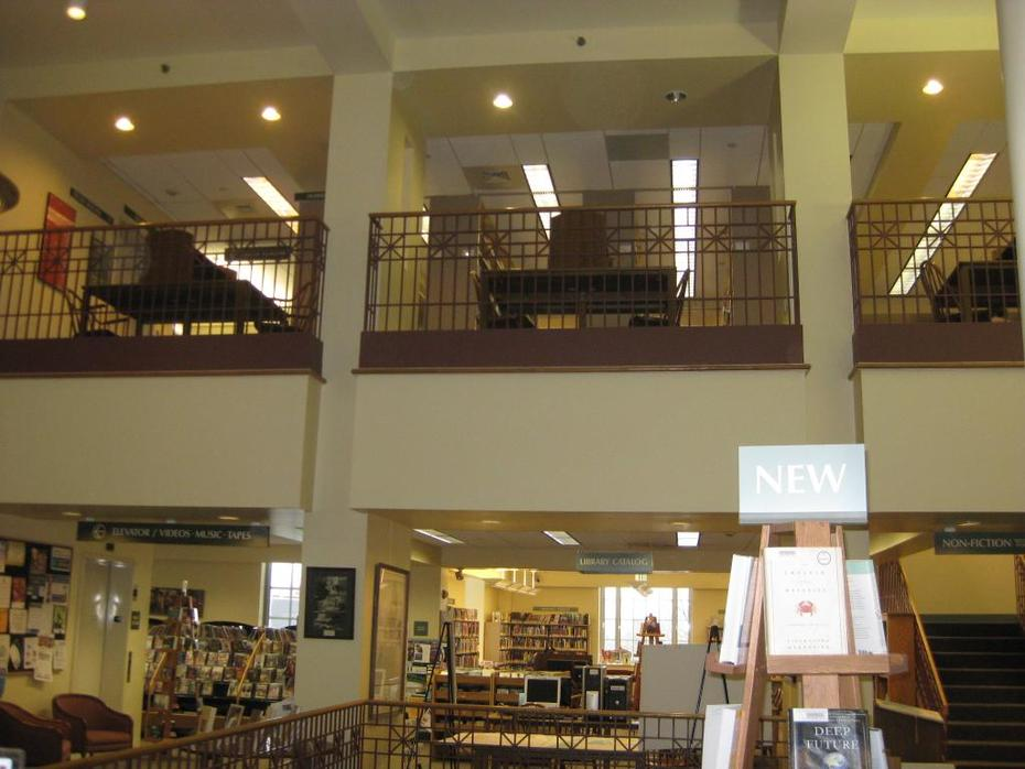 Interior on Two Levels