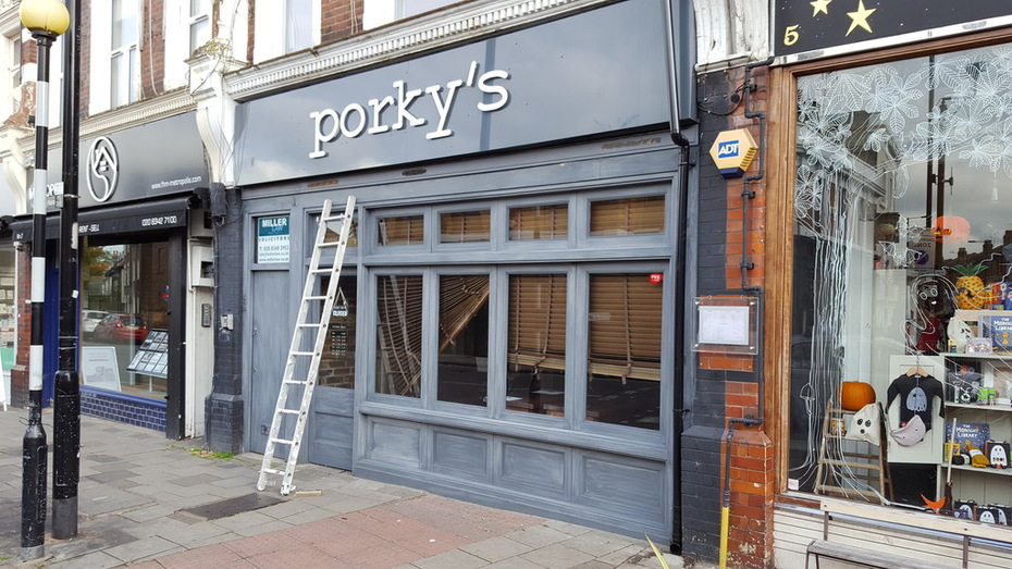 Porky's - getting a Bourbon make over?