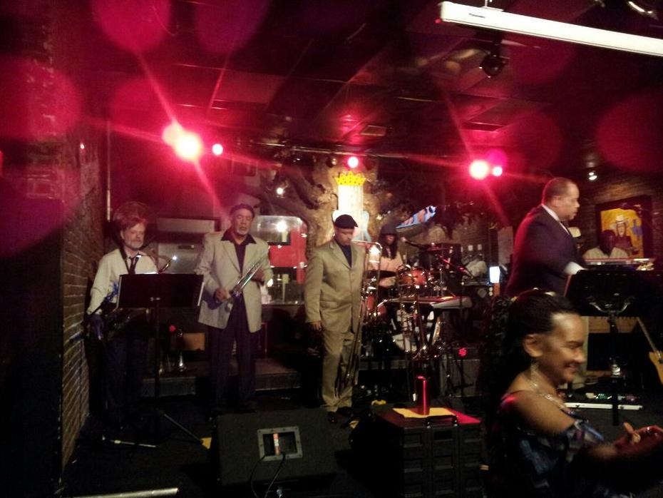 The Horn Section with the BB Kings Nashville All Star band