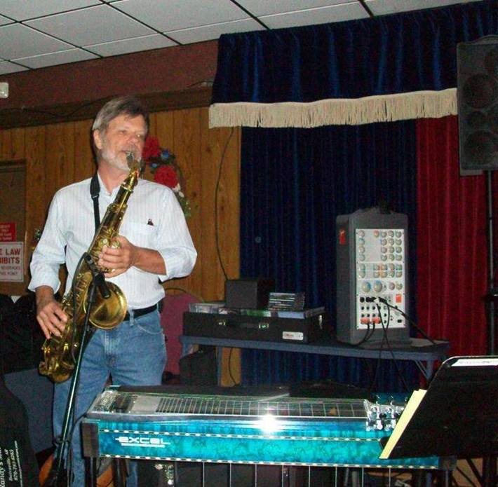 Playing some Sax!