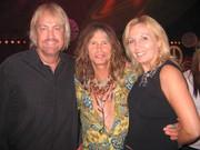Garrett Steele, Steven Tyler and manager TinaMarie Holland