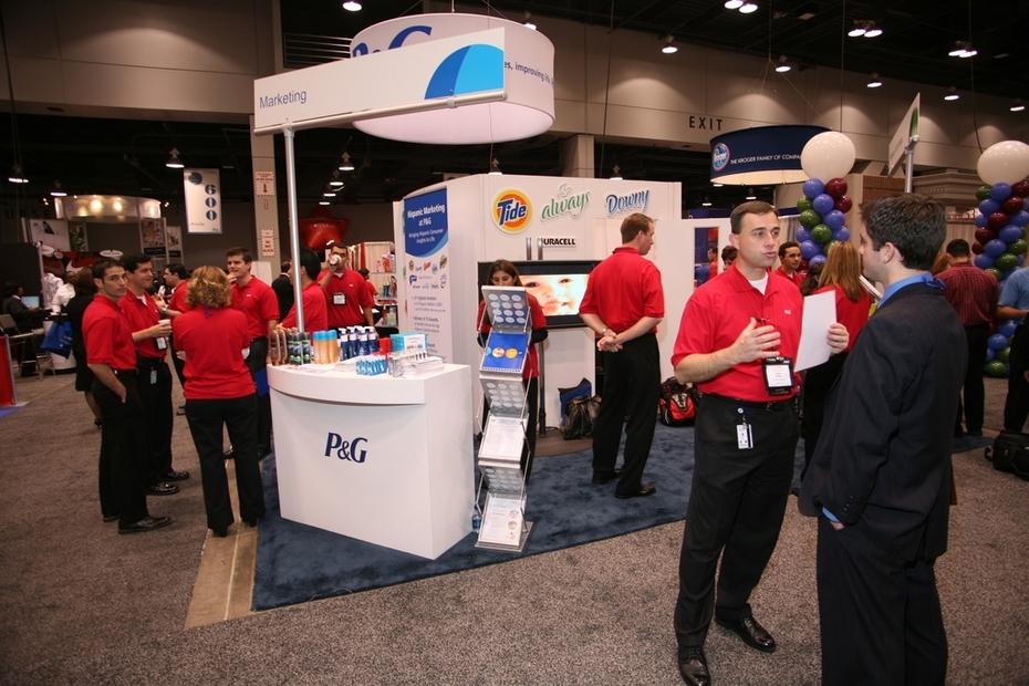 Job Fair - P&G Recruitment Booth & Team