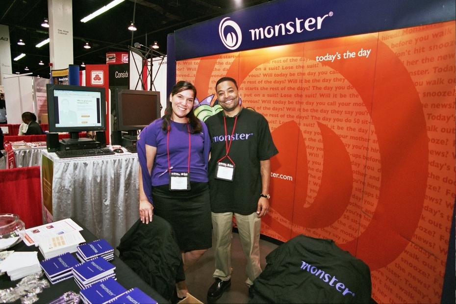 Job Fair - Monster - Recruiters & Recruitment Booth2