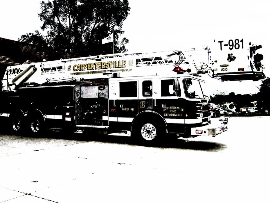 Carpentersville Fire Department Truck