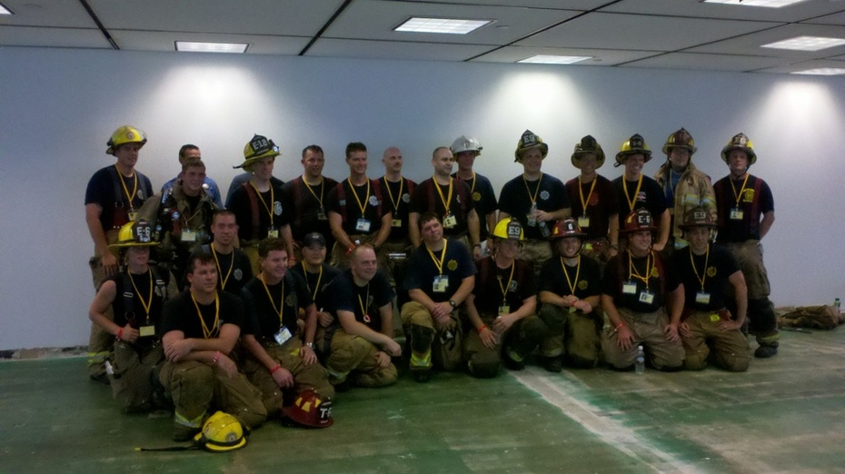 Henrico Firefighters 2011 Stair Climb