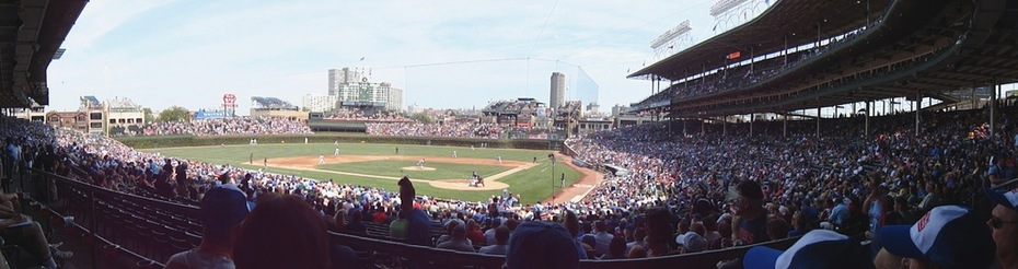 Wrigley Field panorama