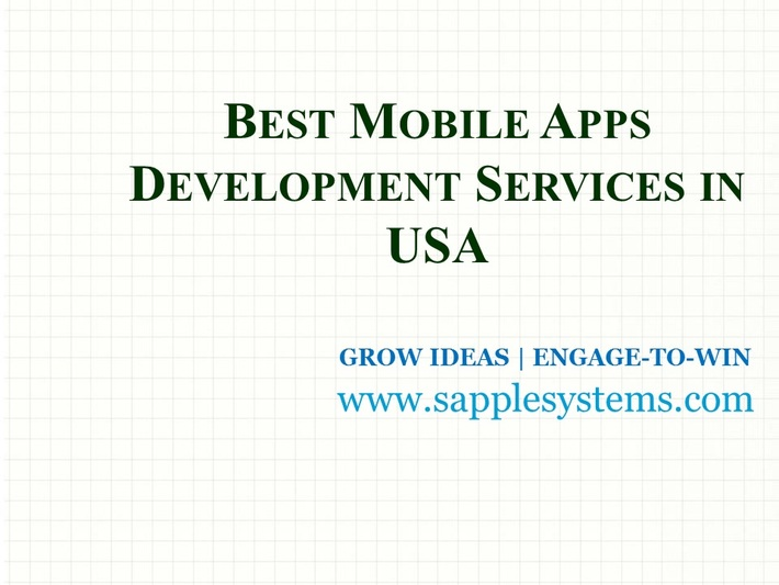 Best Mobile Apps Development Services in USA