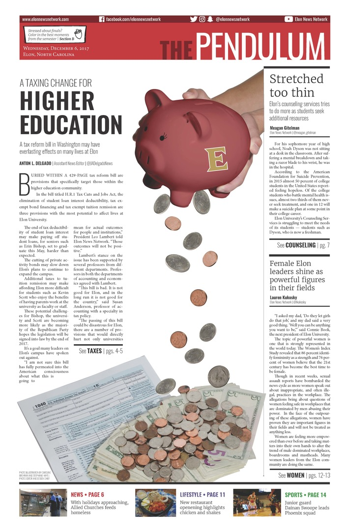 A taxing change for higher education