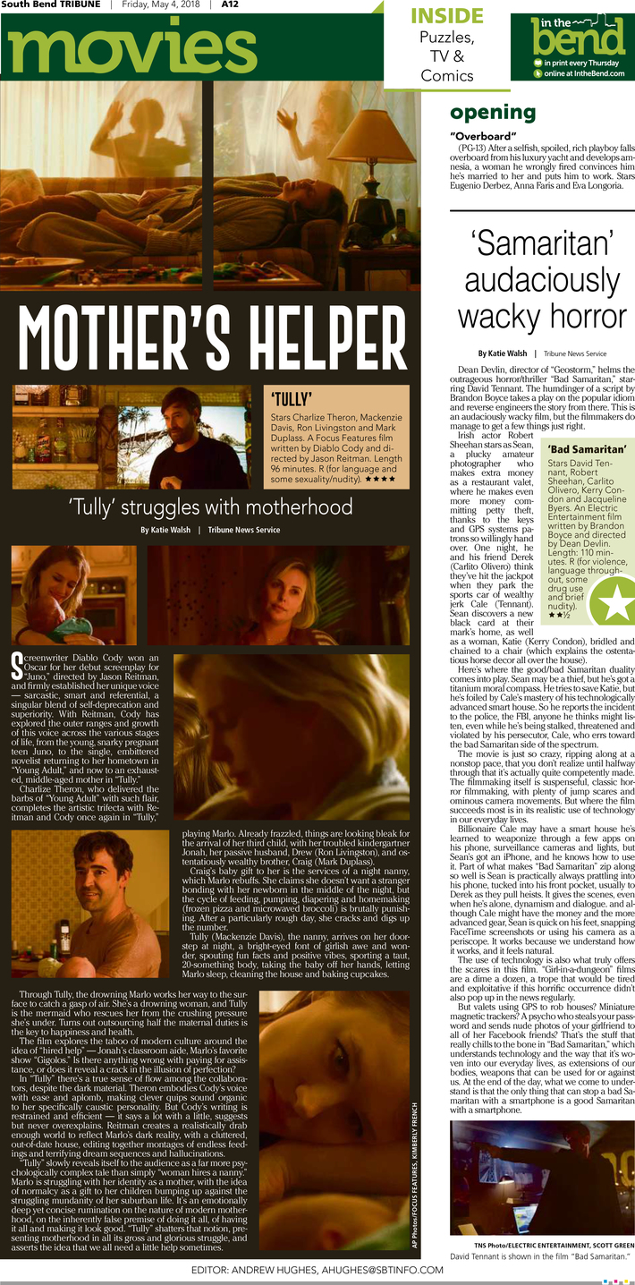Movie Page for 'Tully'
