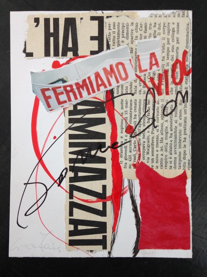 """Cinzia Farina - """"l'hanno ammazzata"""" contro la violenza sulla donna, a cura di Nadia Giusto"""