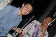me & da2ng duo flute sonata in G by Beethoven